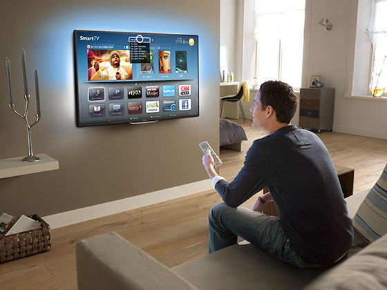 Tv In Muur : Ifa philips lanceert de serie smart led tv gadgetgear