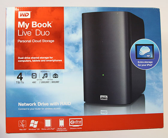 Review: WD My Book Live Duo 4TB - GadgetGear.nl