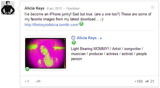 Alicia Keys iPhone