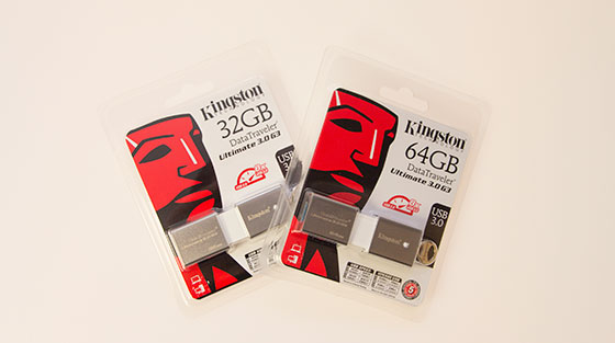 Kingston DataTraveler Ultimate 3.0 G3 Packshot