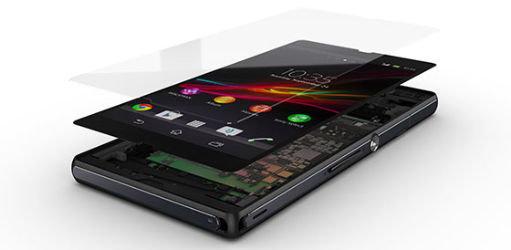 Sony Mobile Xperia Z Scherm