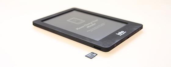 Kobo Glo MicroSD