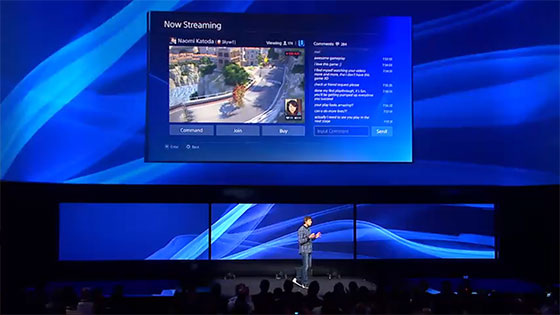 PS4 Streaming