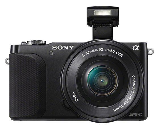 Sony NEX-3N Flash