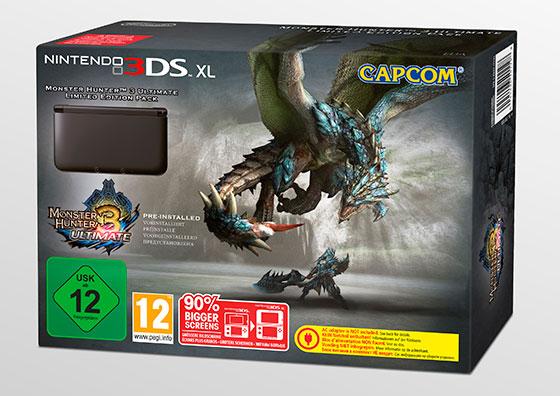 Monster Hunter 3 Ultimate 3DS-XL-Bundel