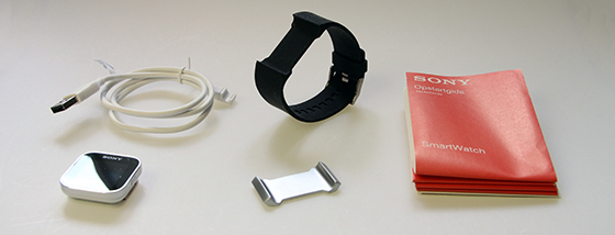 Sony-SmartWatch-Unboxing