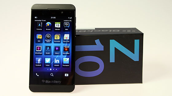 BlackBerry Z10 Packshot