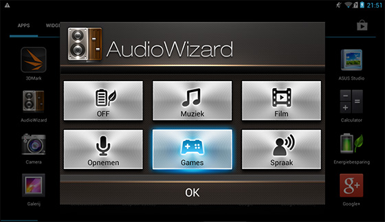 Fonepad audio