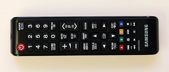 Samsung-UE55F7000-Klassieke-bediening