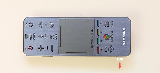 Samsung-UE55F7000-Touch-bediening