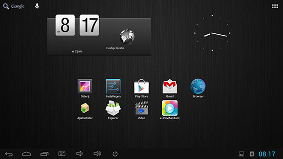 Minix-Android-Launcher