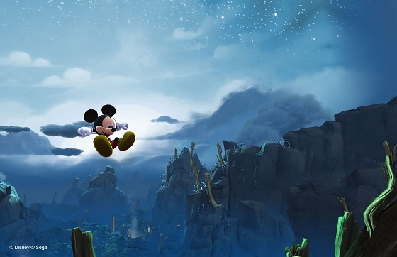 Mickey mouse castle of illusion jump