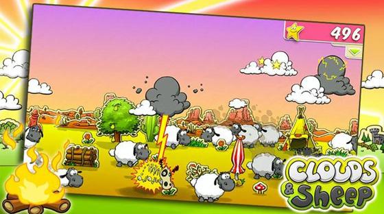 Maak ondertussen ook een snapshot van je schaapjes met de camerafunctie in het spel!