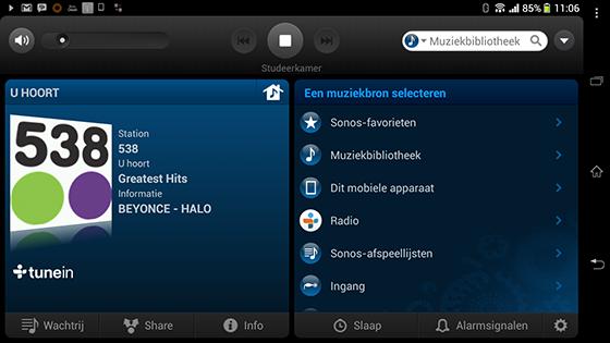 Sonos Android App