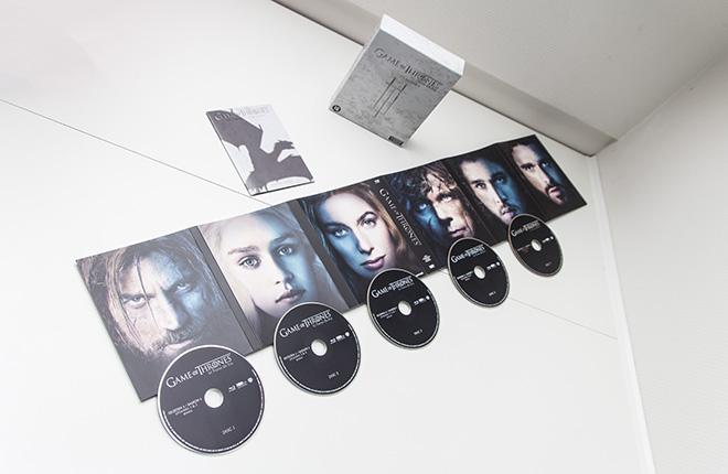 Game of Thrones Seizoen 3 Unboxed