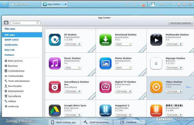 QNAP-App-Center