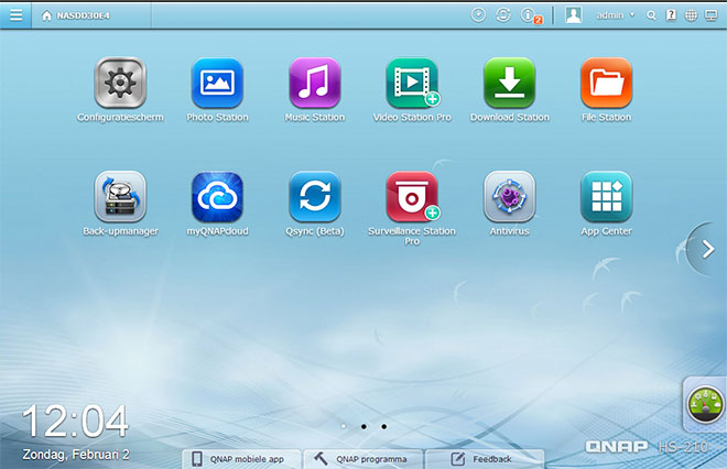 QNAP-Desktop