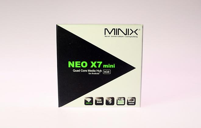 Minix Neo X7 Mini Packshot