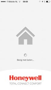 IOS app welkomscherm