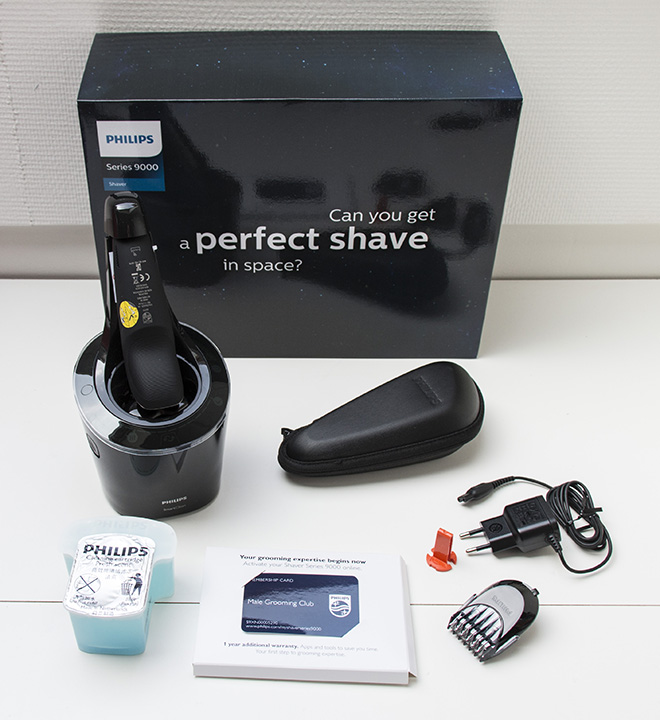Philips Shaver 9000 Series Unboxing
