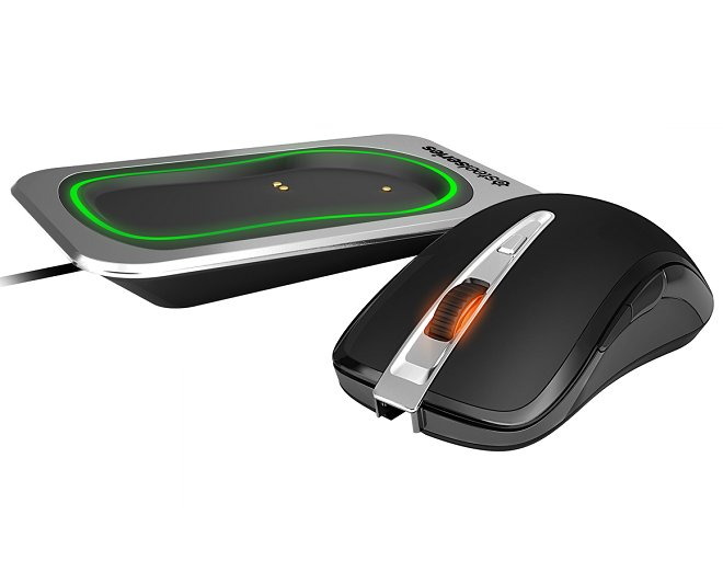 Steelseries Sensei wireless dock + muis