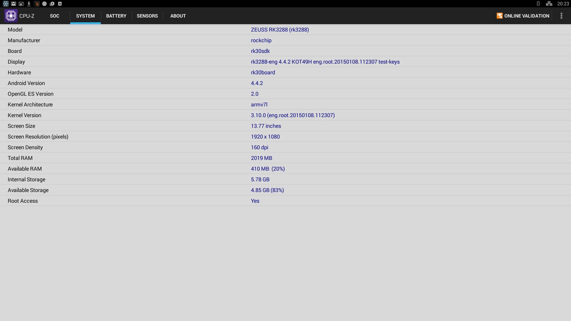 Review: Zeuss RK3288 4K (Android Mediaplayer) - GadgetGear nl
