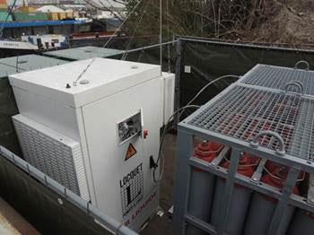 Vodafone-Waterstof-Generator
