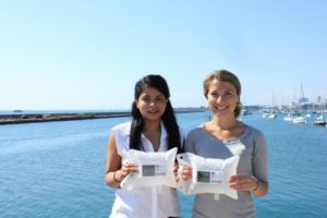 LuminAID-Give-Light-Nepal-Co-Founders-Anna-and-Andrea-with-their-original-solar-inflatable-light-676x450