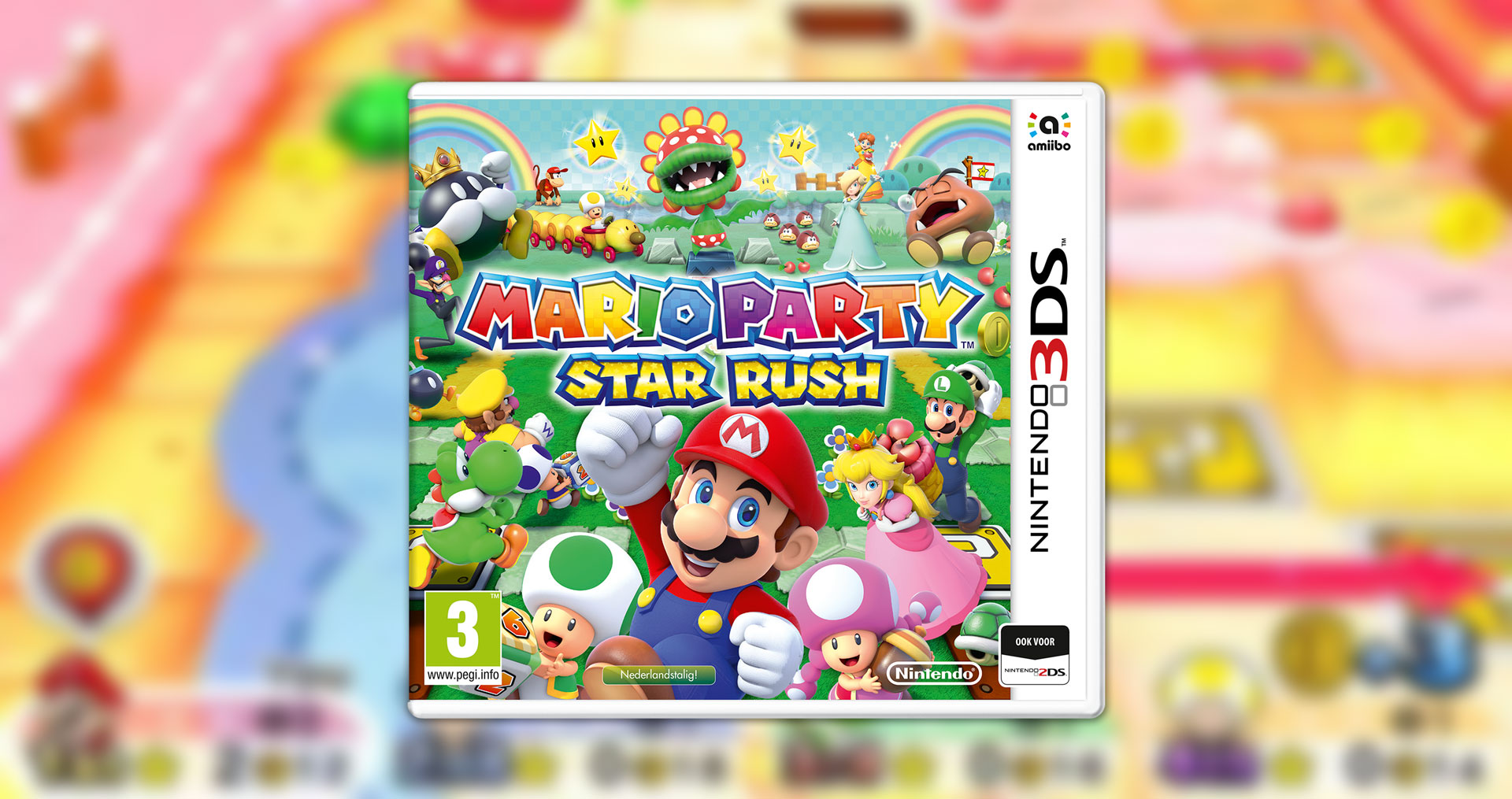 Mario Party: Star Rush Packshot