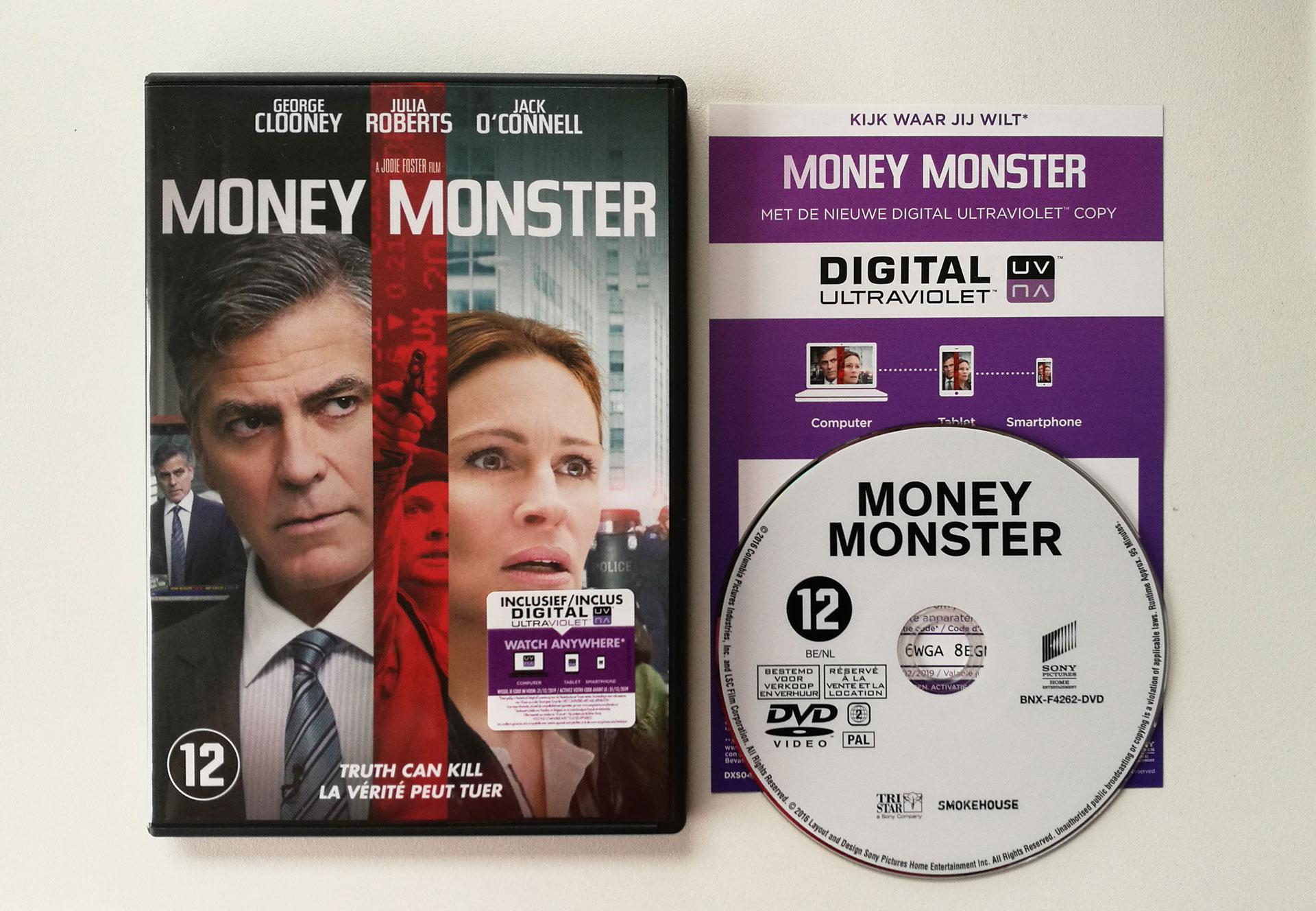 Money Monster Packshot DVD
