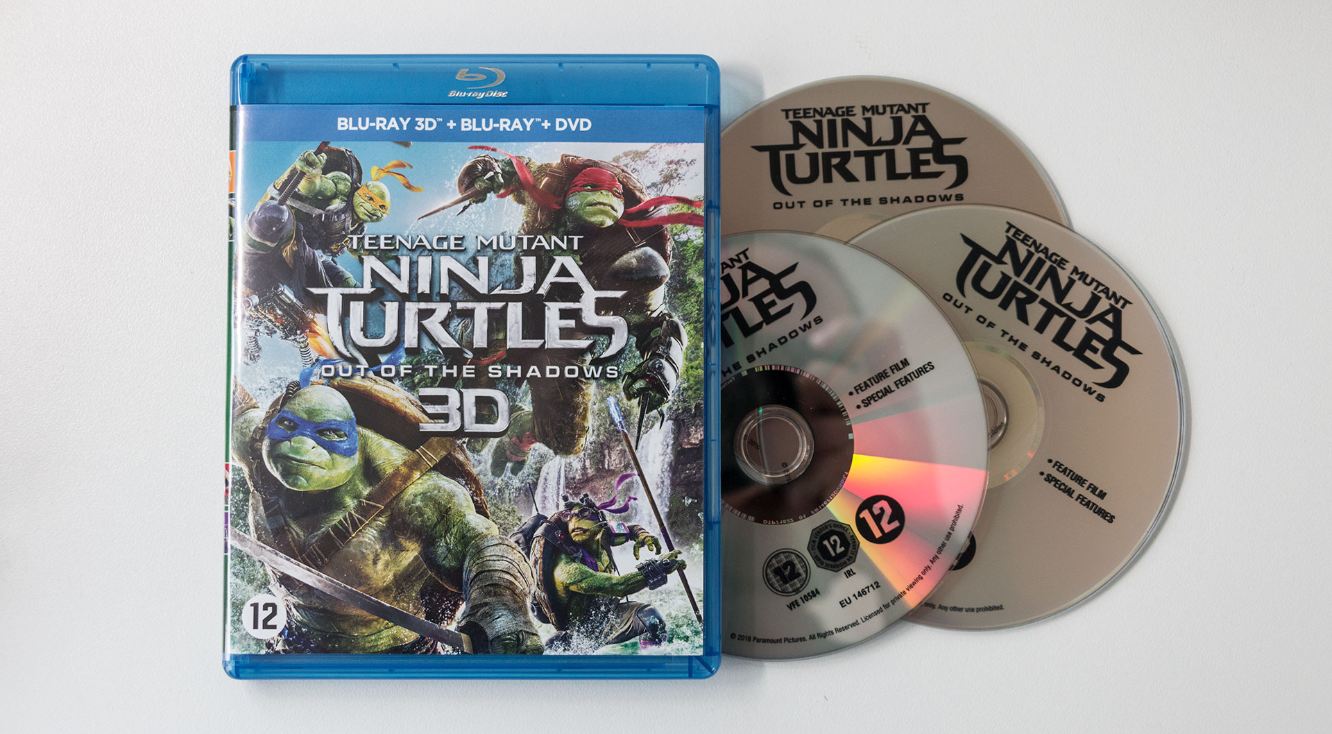 Teenage Mutant Ninja Turtles: Out of the Shadows, Recensie, Review, Blu-Ray, 3D, Paramount
