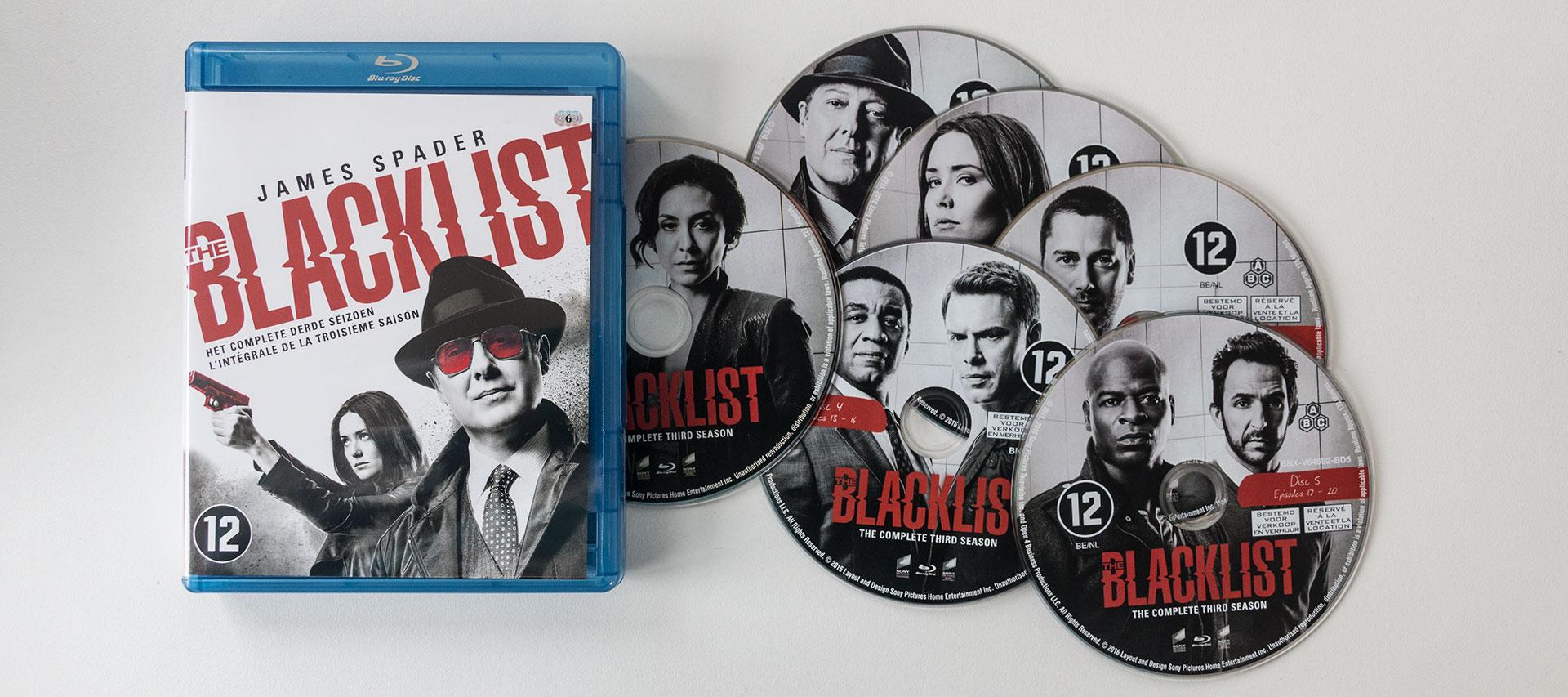 The Blacklist Seizoen 3 Blu-Ray