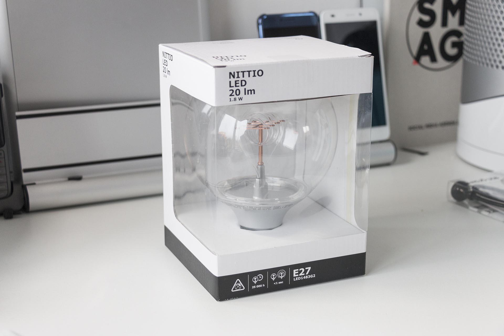 Review: Ikea Nittio (LED Lamp) - GadgetGear.nl