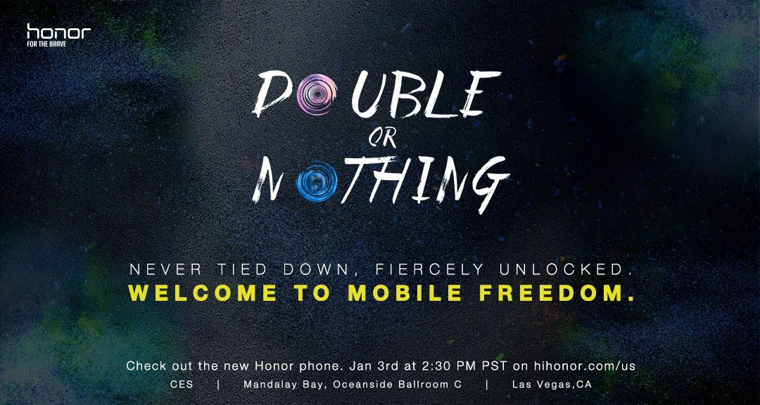 Honor Double or Nothing CES