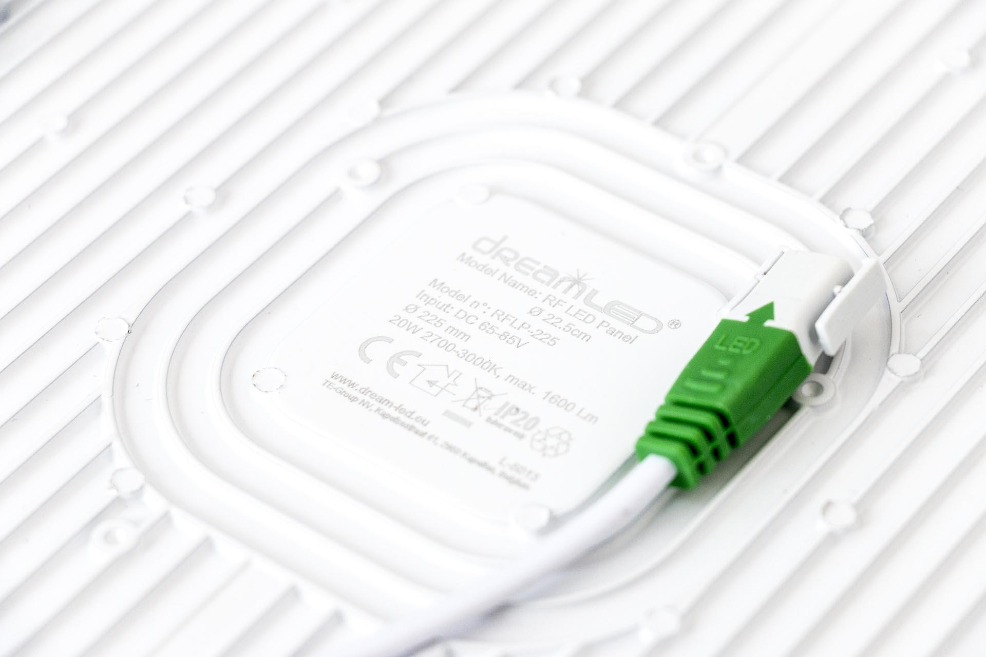 DreamLED RF LED Panel 22,5 Specs