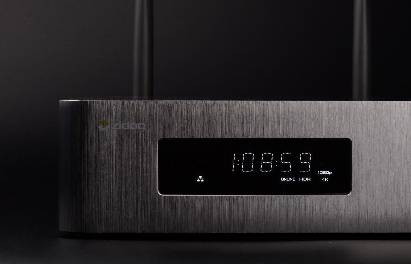 Zidoo X10 Display