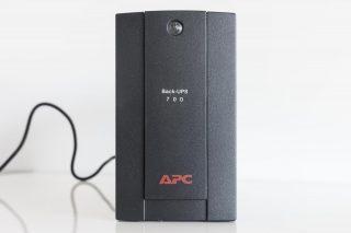 APC BX700U-GR Backup Batterij Voorkant