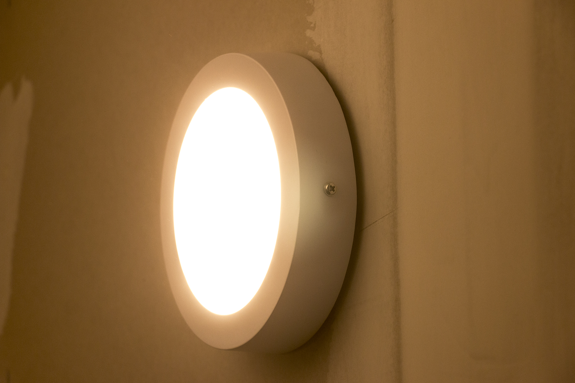 Dream LED Ceiling Sensor Light aan