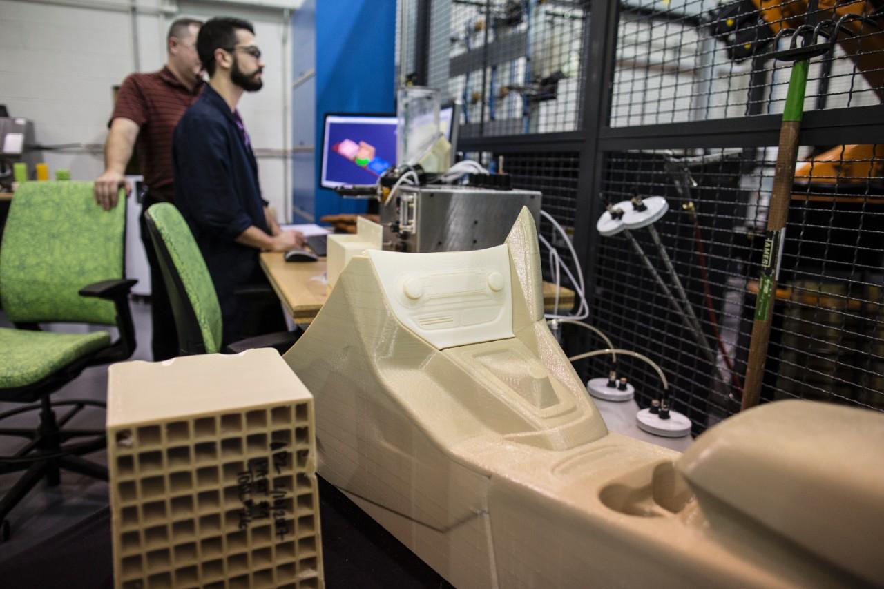 Ford 3D Print Auto Onderdelen