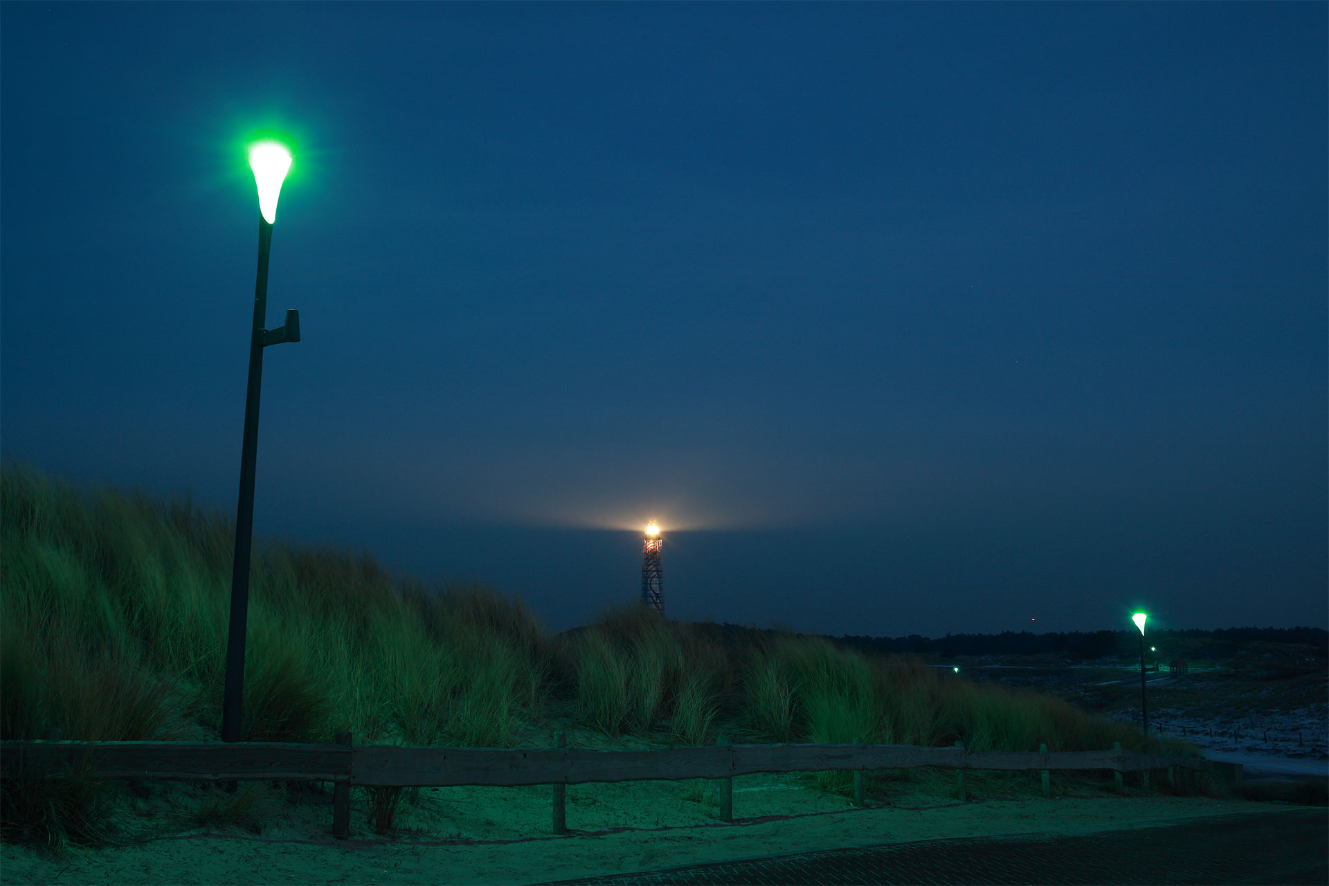 Philips strandverlichting Ameland