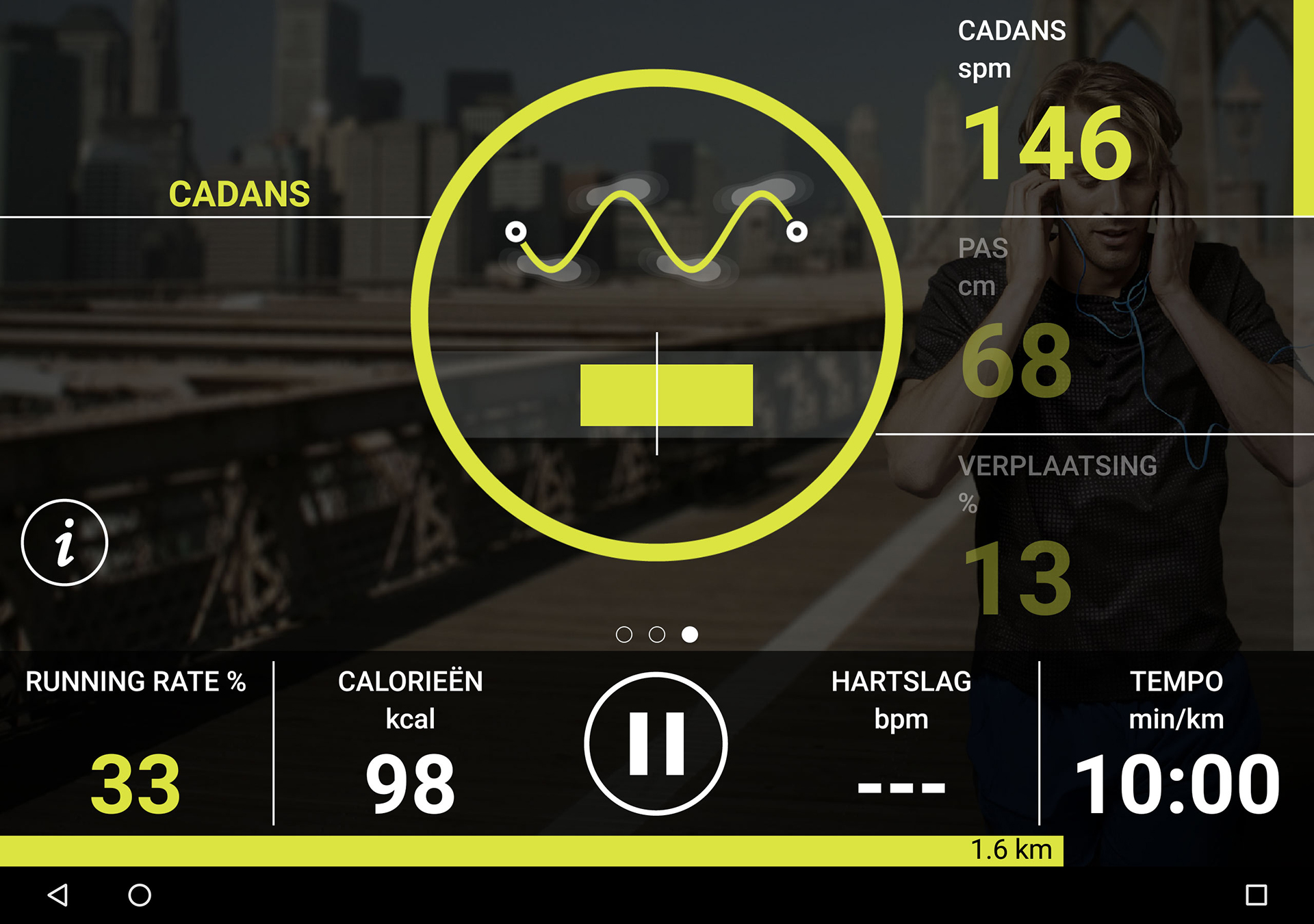 Technogym MyRun App Android