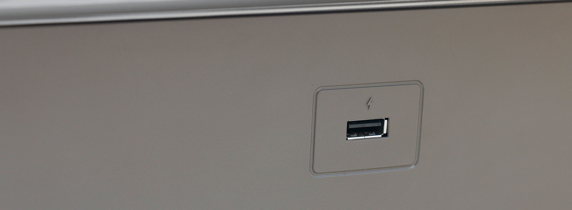 Technogym MyRun USB poort