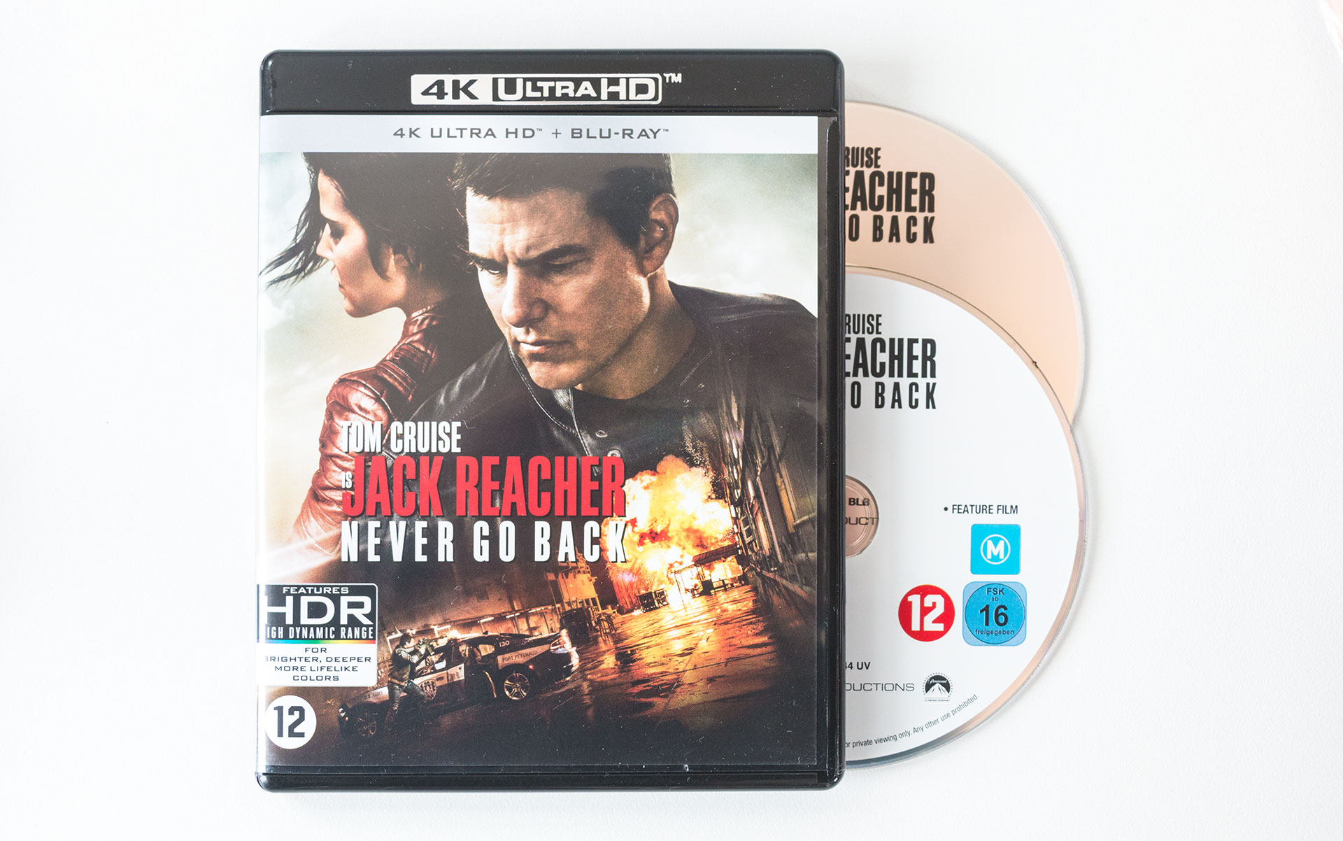 Jack Reacher Never Go Back Packshot