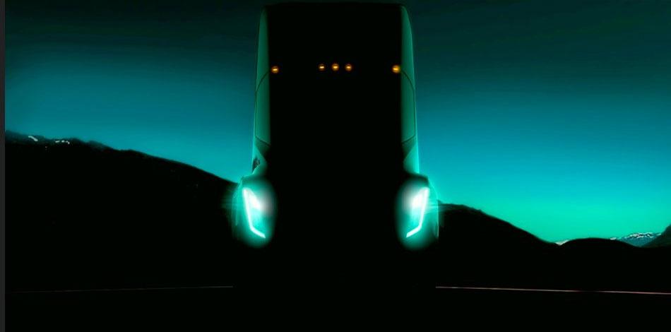 Tesla Semi Truck Teaser