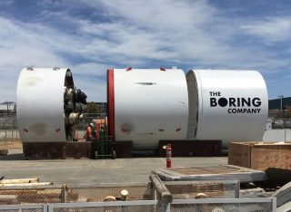 The Boring Company Tunnelboor