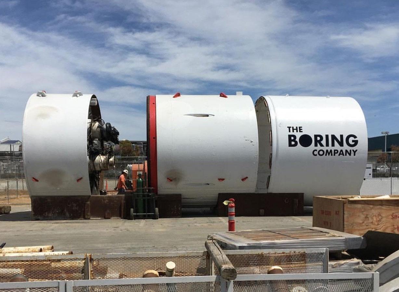 The Boring Company Tunnelboor