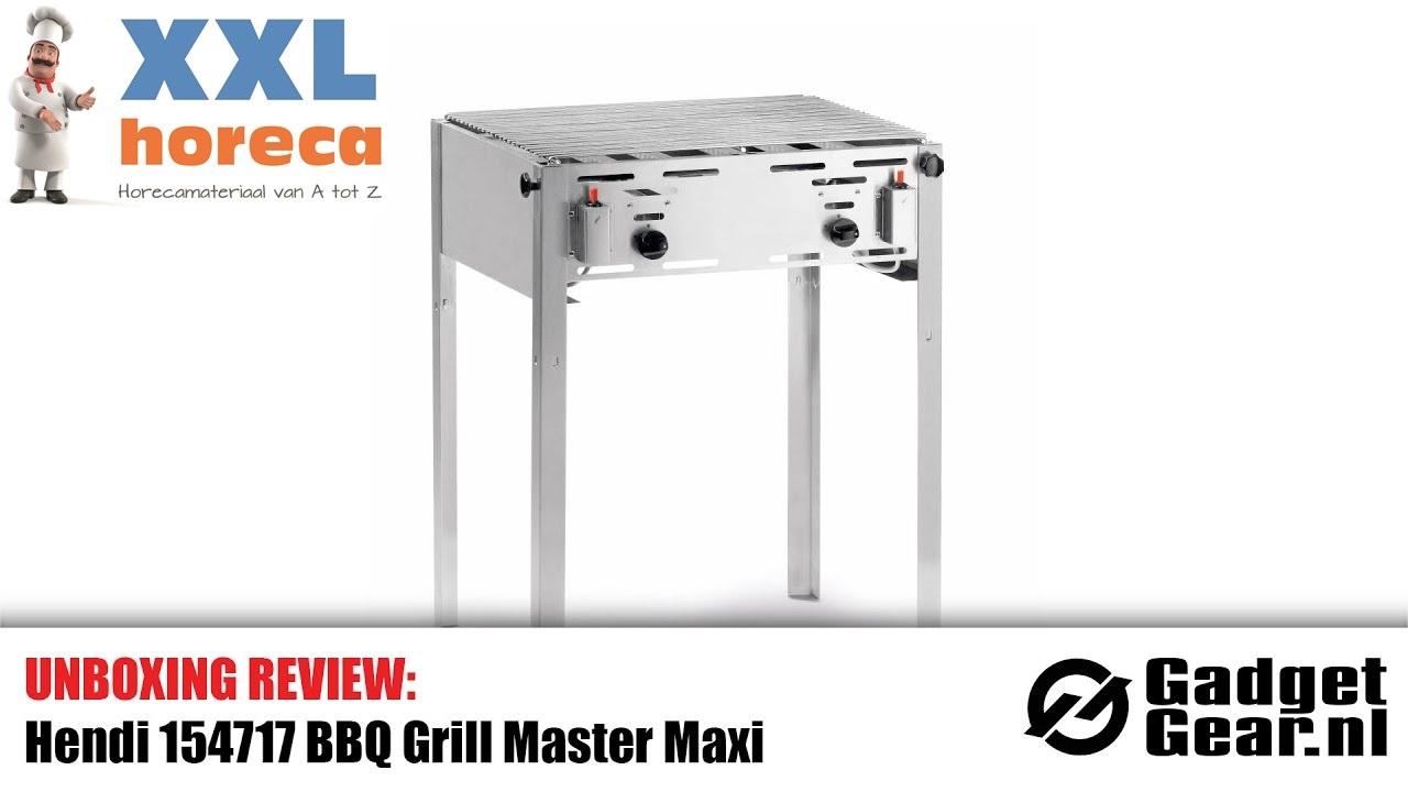 Bbq Van A Tot Z.Review Hendi Bbq Grill Master Gas Barbecue 154717 Gadgetgear Nl