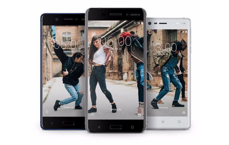 Nokia 3, Nokia 5, Nokia 6