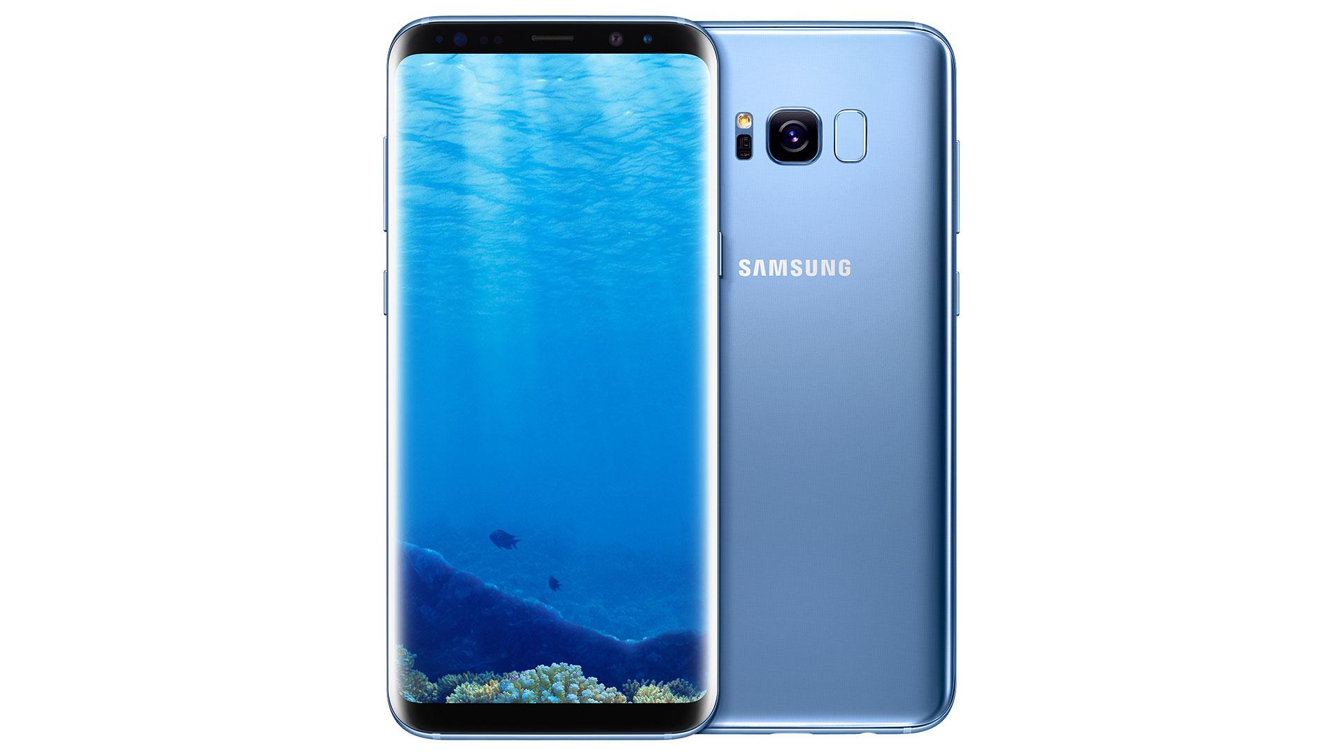 Samsung Galaxy S8 Coral Blue
