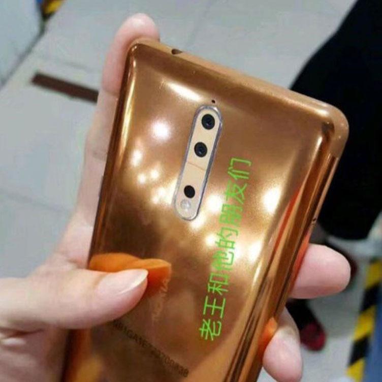Nokia 8 Gelekt